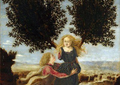 Apollon et Daphnée, Piero del Pollaiolo
