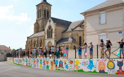 Fresque murale Montvicq