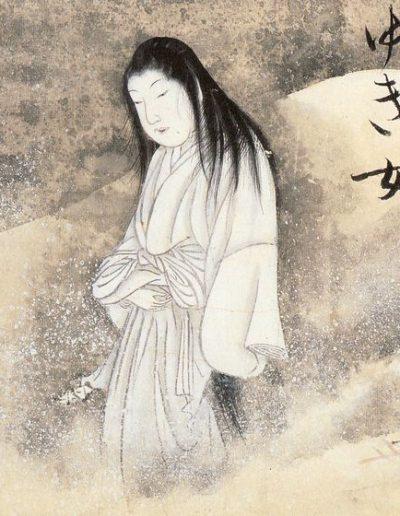 Yokai, Yuki, snow woman