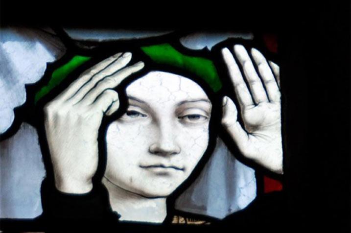 pastorale, belles heures, vitrail, orleans