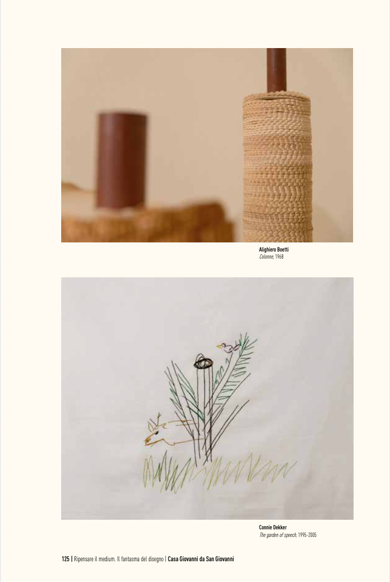 installation art - embroidery - expo 2015 casa masaccio