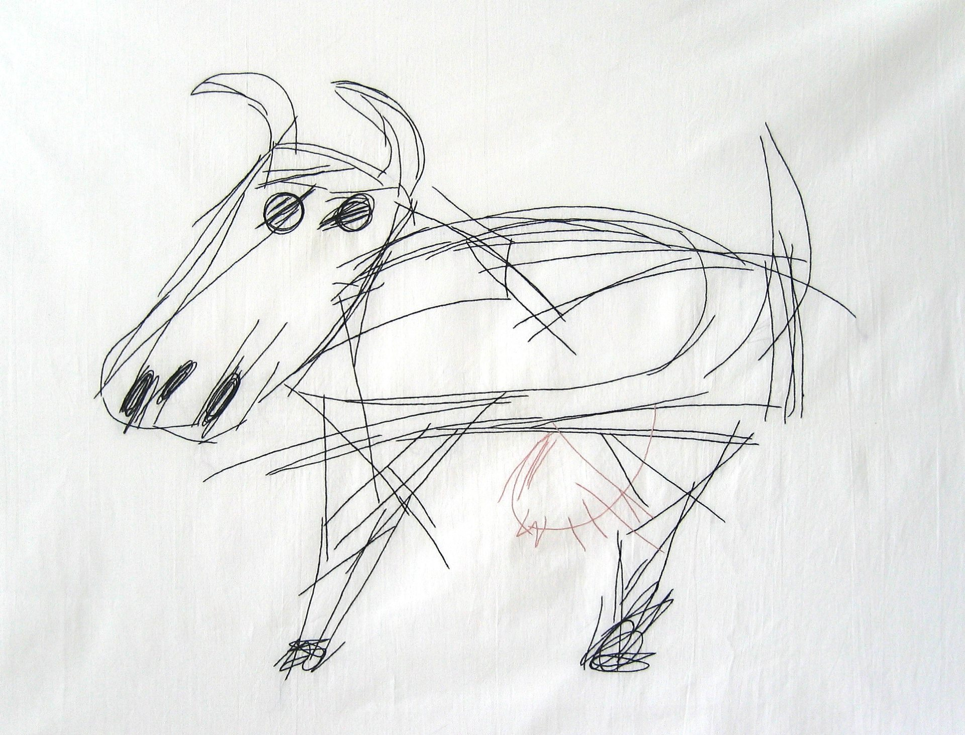 embroidery_garden of speech_cow