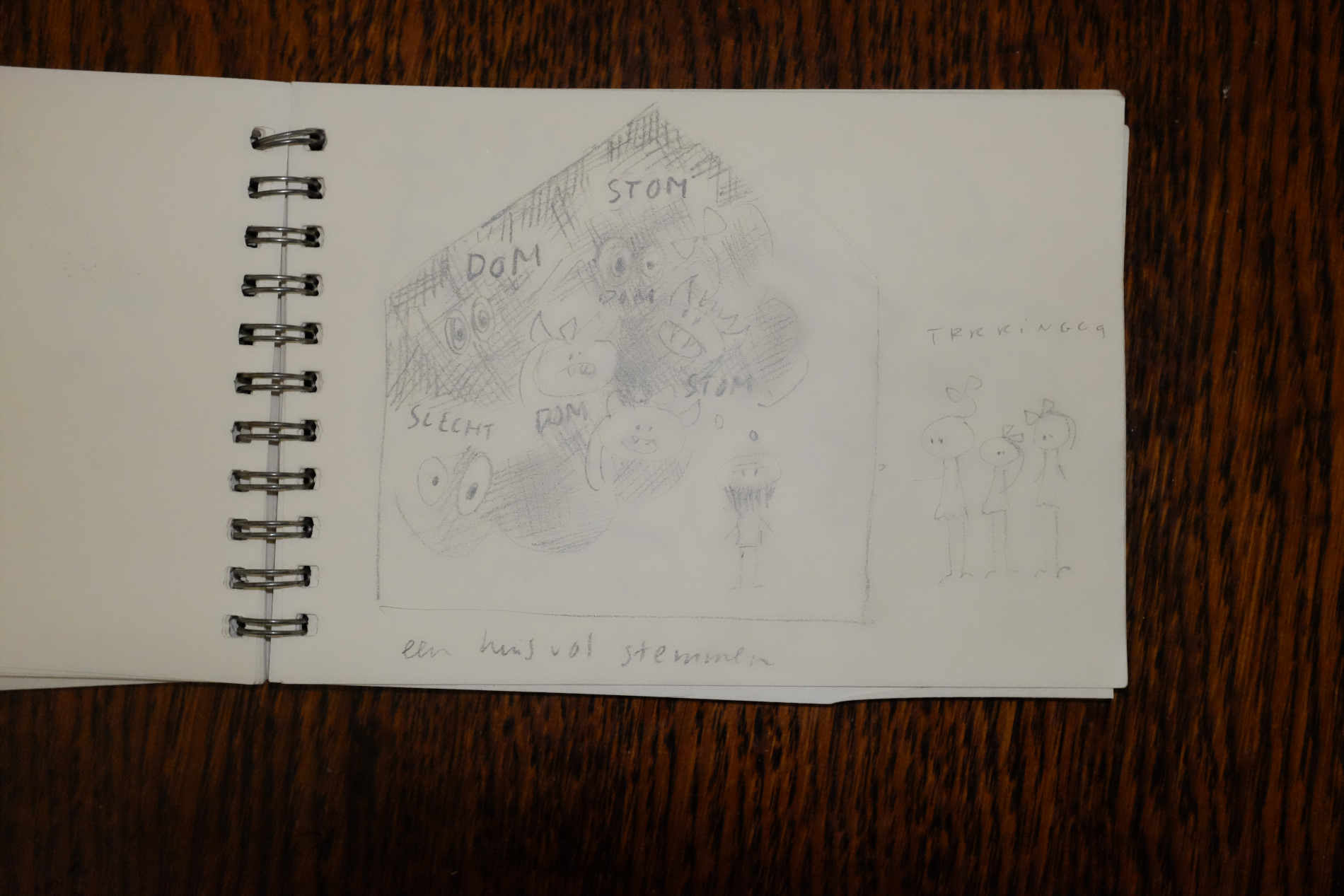 drawings-french diary-are you at home?