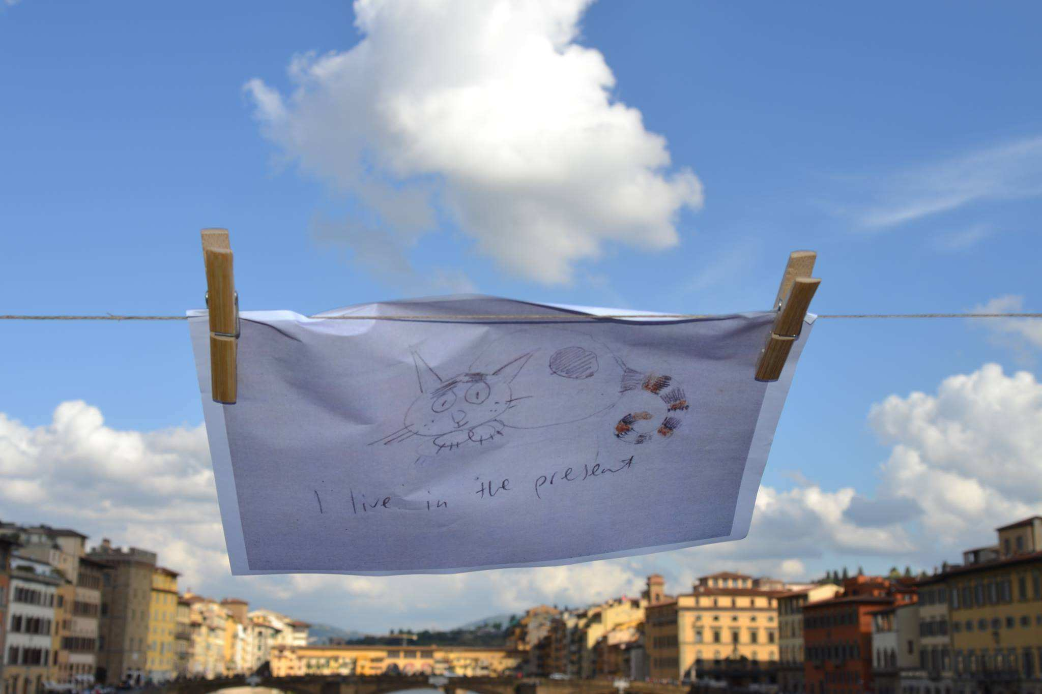 Take Away Drawing, Marietje in Florence