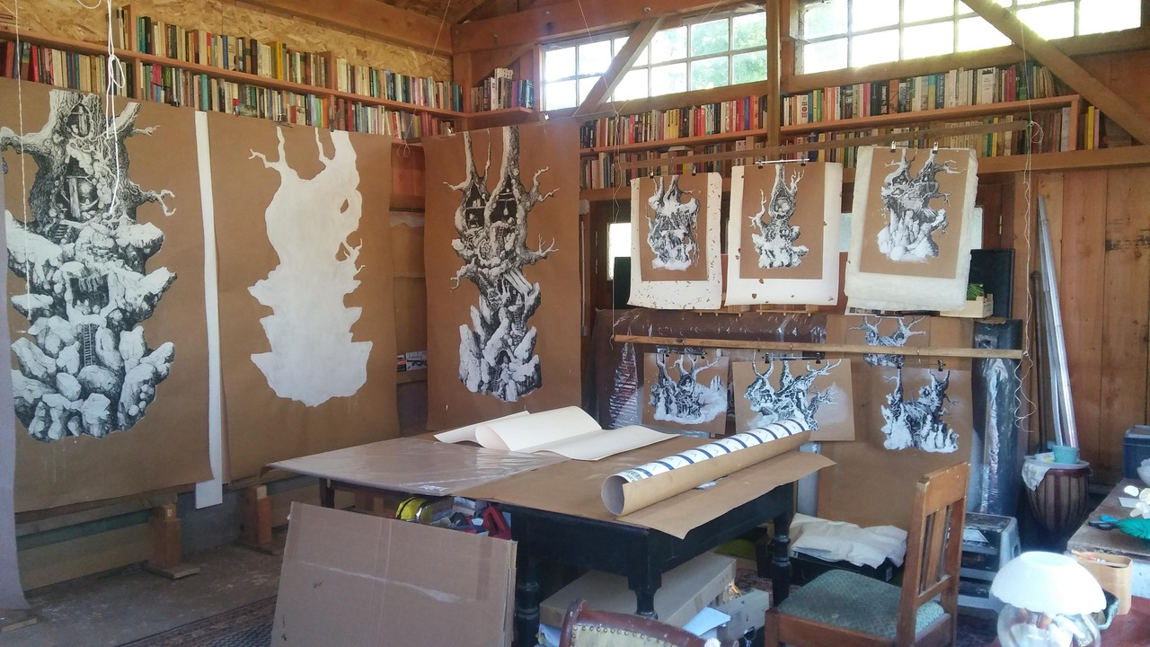 studio view, drawing, are you at home