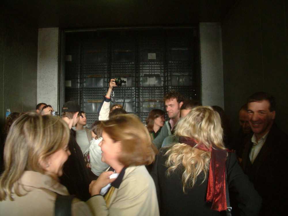 exhibition spread in prato, lanificio