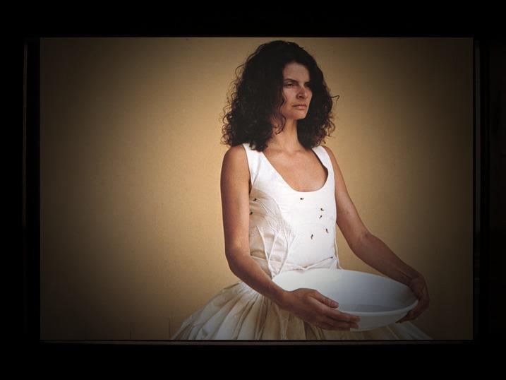 Performance Waiting by Gisella Zanmatti in Trevi - Civic Museum