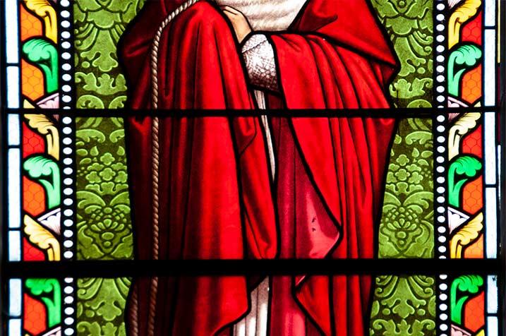 pastorale, foto collage 4, vitrail