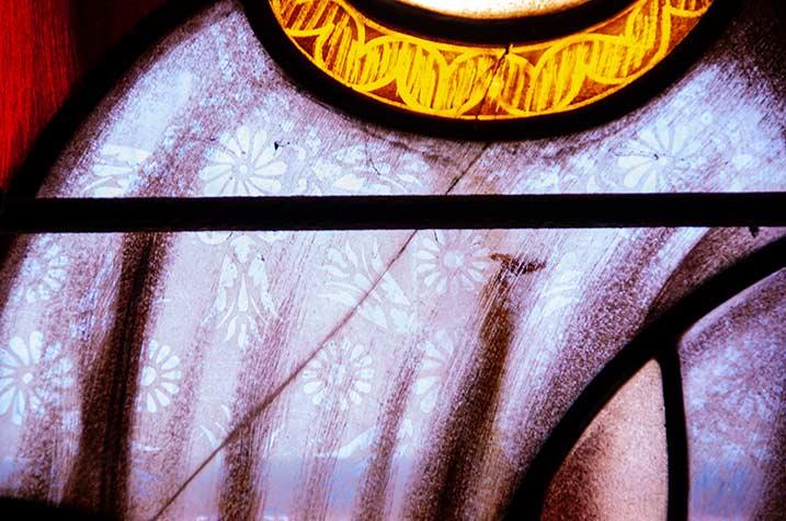 pastorale, foto collage 9, vitrail